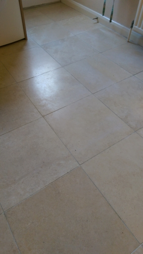 Unpolished travertine